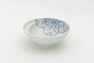 お鍋の取り皿 Cacomi -かこみ- 【花弁紋(青)】