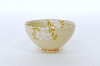 桜文 煎茶碗