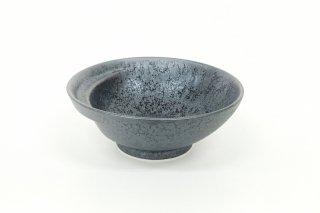 お鍋の取り皿 Cacomi -かこみ- 【結晶 黒】