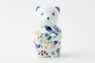 momoco bear 【たなかふみえ/鳥小花紋】