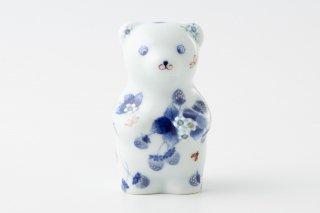 momoco bear 【たなかふみえ/白花苺紋】