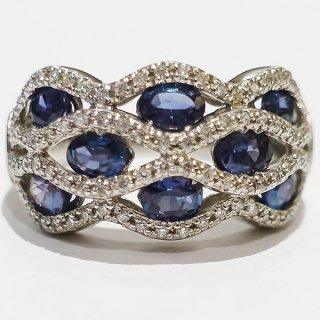 宝石の王様アレキサンドライトのリング Pt900