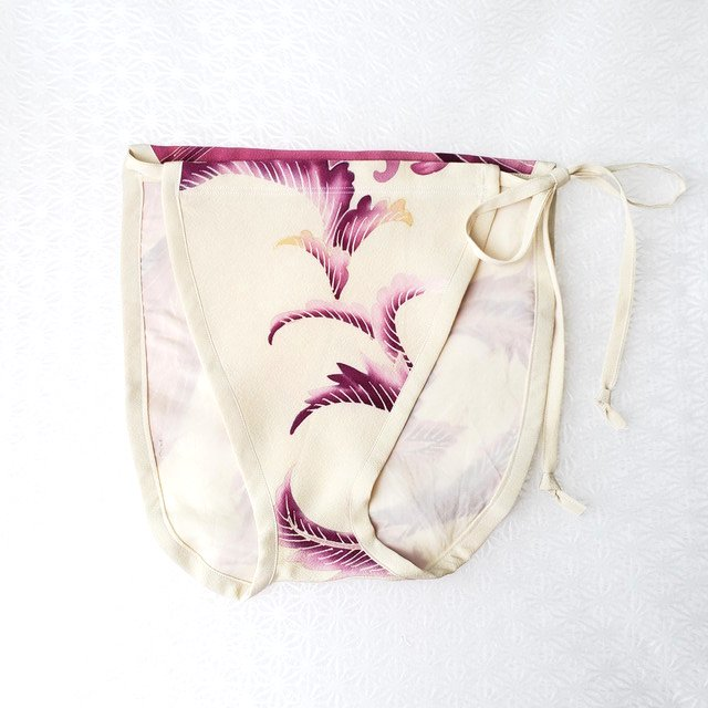 【レディース/着物シルクパンツ】紫式部のあやめ