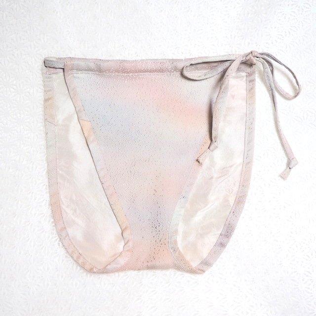 【レディース/着物シルクパンツ】オーロラの絹