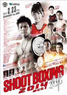 SHOOT BOXING 2014 act.1 DVD
