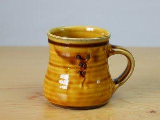 【小山田窯】マグカップ 飴釉