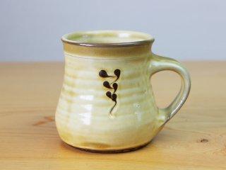 【小山田窯】マグカップ 若草