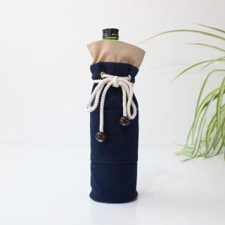 高島帆布のボトルケース