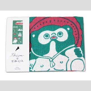 shigaのてぬぐい 緑