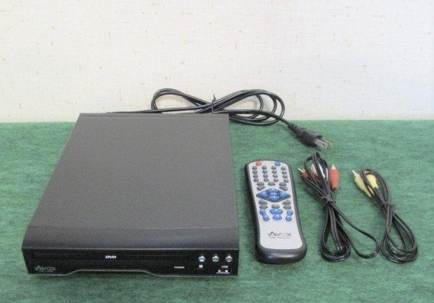 2015年製 アヴォックス  DVDプレーヤー ブラック [再生専用]  ADS-1180S