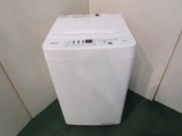 2019年製 ハイセンス 全自動洗濯機 HW-E4503(0514)