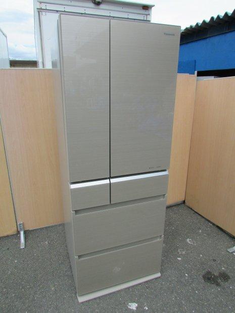 2017年製 パナソニック ノンフロン冷凍冷蔵庫 NR-F502XPV-N(0968)