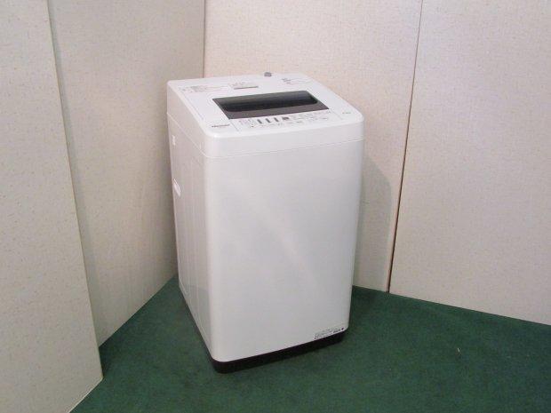 2018年製 ハイセンス 全自動洗濯機4.5Kg HW-T45C(0227)