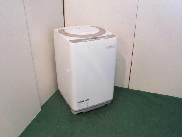 2016年製 シャープ 全自動電気洗濯機 ES-KS70R-N(1946)