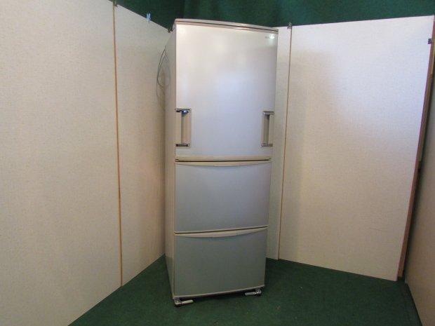 2010年製 シャープ ノンフロン冷凍冷蔵庫 SJ-WA35S-S(0642)