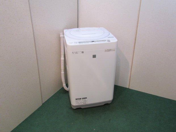 2018年製 シャープ全自動洗濯機 ES-G7E5-KW (4065)