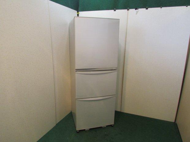 2013年製 東芝 ノンフロン冷凍冷蔵庫 GR-E34N(SS)(8603)