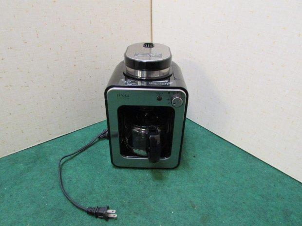 シロカ コーヒーメーカー SC-A121SV (0715)