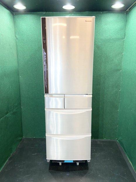 2015年製 パナソニック ノンフロン冷凍冷蔵庫 NR-E430V-N形(7315)
