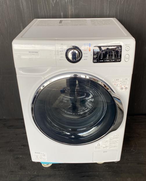 2018年製 アイリスオーヤマ ドラム式電気洗濯機 FL71-W(0377)送料無料(京阪神エリア)