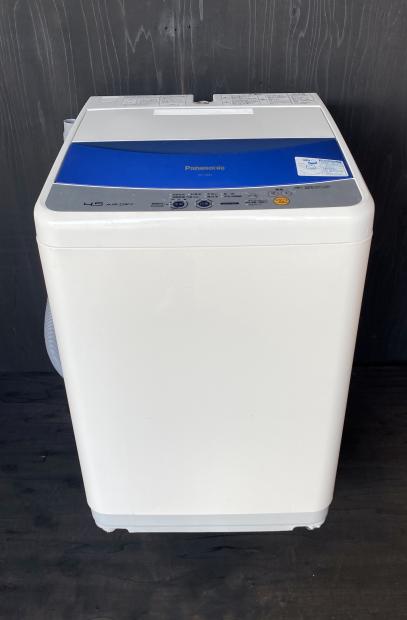 2010年製 パナソニック 全自動洗濯機 AN-F45B1(1886)送料無料(京阪神エリア)