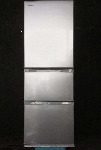 2014年製 東芝 ノンフロン冷凍冷蔵庫 GR-G38S(S)(1409)送料無料(京阪神エリア)