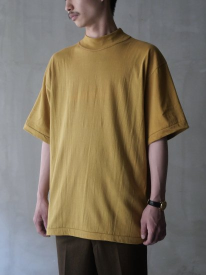 1980's Vintage GETRA DEADSTOCK 100% Cotton Mock-neck Shirt