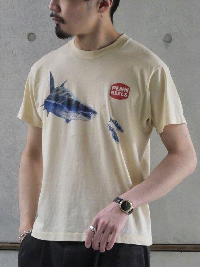 1980's Vintage Printed T-shirt PENN REELS