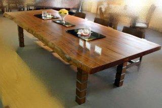 サペリマホガニー/大テーブル