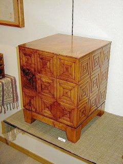 装飾小箱 (板屋楓・拭き漆仕上げ)