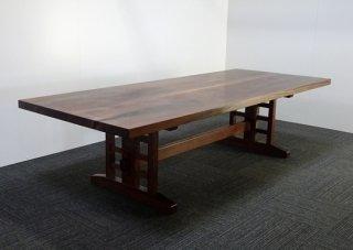 ウォールナット無垢テーブル(8~10人掛け)売約済み