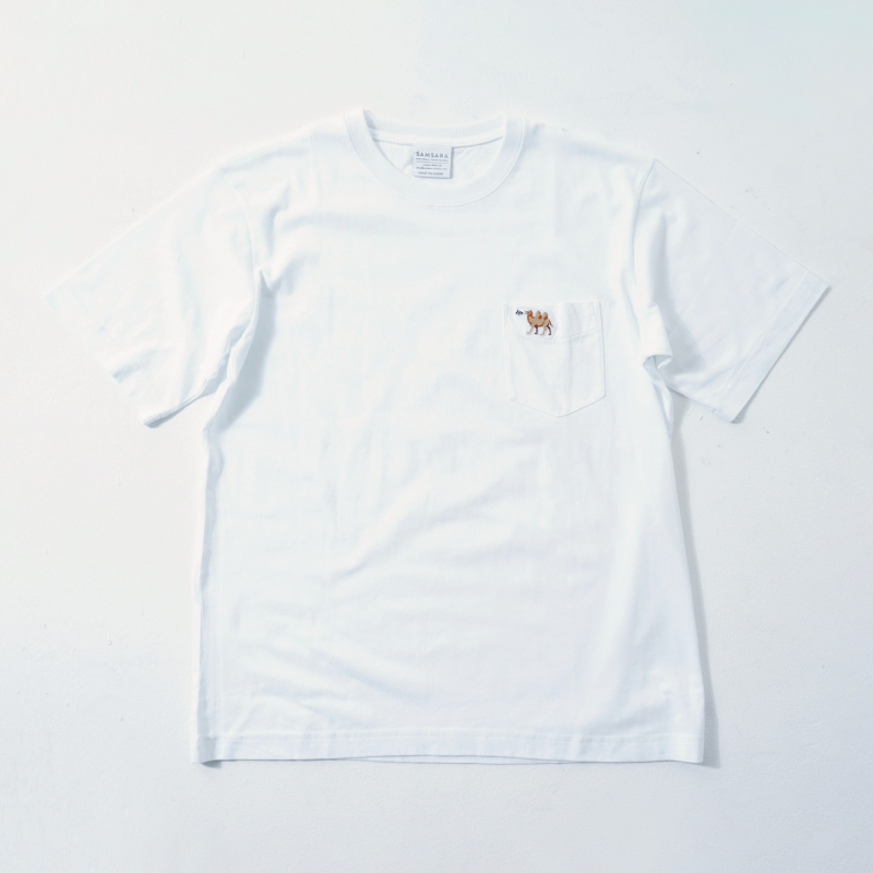 UNISEX Short Sleeve T White  (5Animals)
