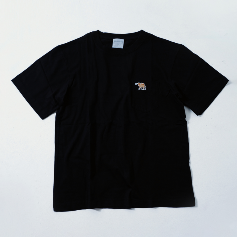 UNISEX Short Sleeve T Black  (5Animals)