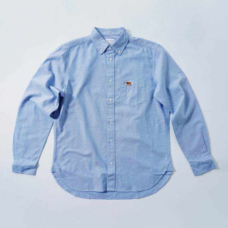 MENS Shirt Blue  (5Animals)