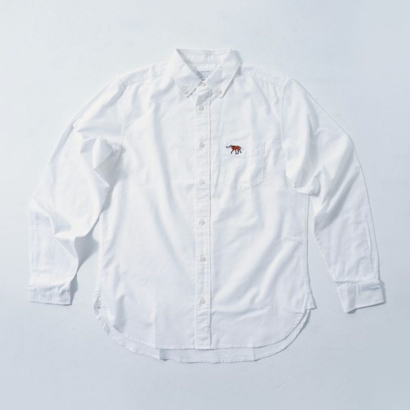 MENS Shirt White  (5Animals)