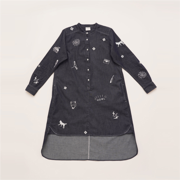 HOWL SHIRT Dress  (3Colors)