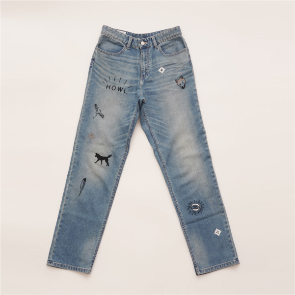 HOWL BOYFRIEND Denim Pants