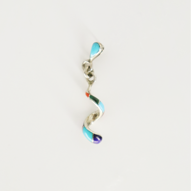 SPIRAL Inlay Necklace
