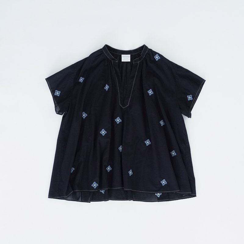 Airy Sheer Blouse (North)