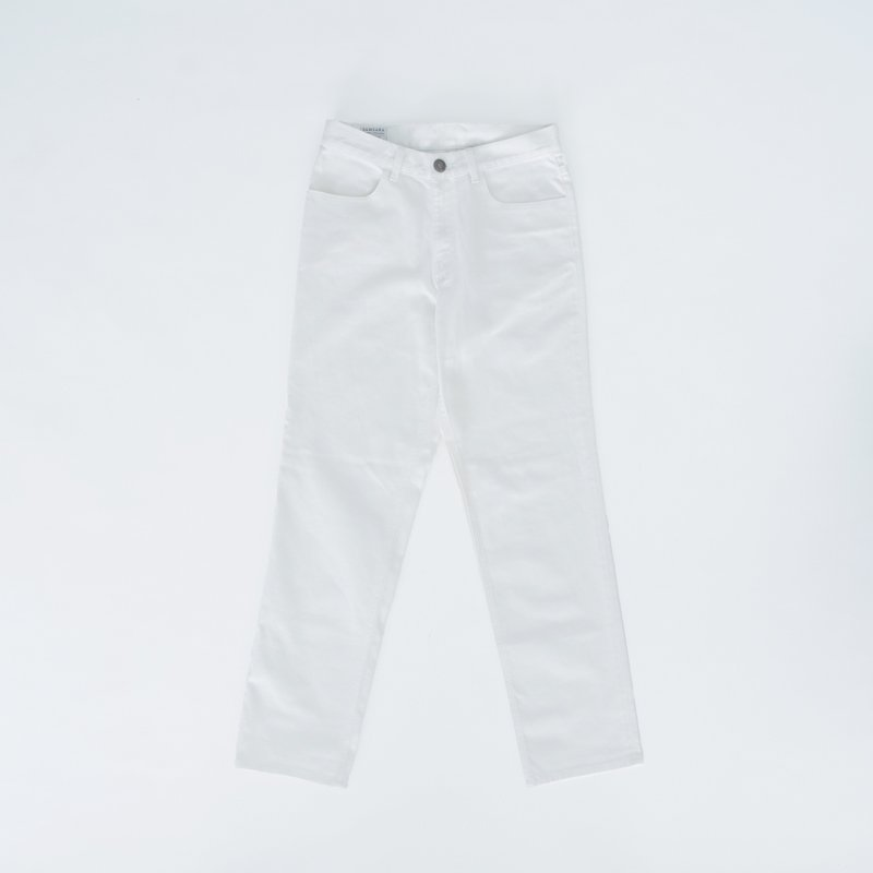 White Wide Pants (North)