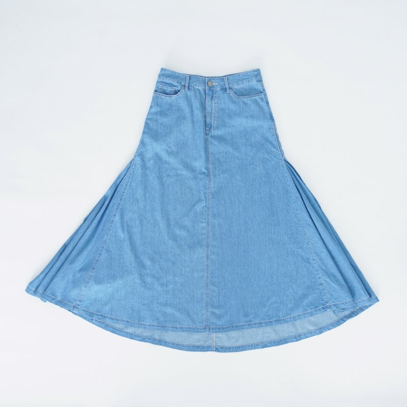 Blue Maxi Skirt (North)