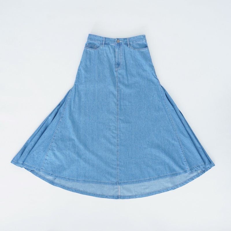 Blue Maxi Skirt (South)