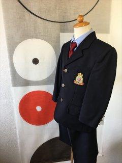 (B-100-6)紺シングルスーツ100cm