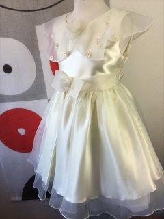(G-90-6)大きな襟が可愛いドレス90cm