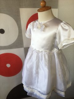 (G-95-1)白のドレス95cm