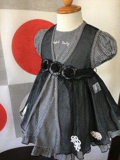 (G-80-2)JOYFULPARTYの黒ドレス80cm