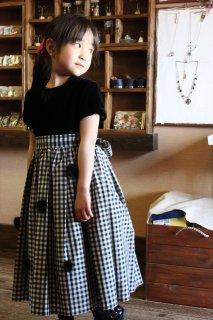 (G-120-25)ポンポネットのドレス120cm
