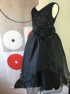 ◆送料お得プラン商品◆(G-130-35)黒のドレス