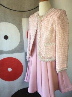 (G-110-35)ピンクのスーツ110cm