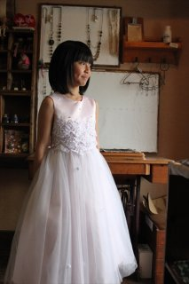 (G-130-57)素敵なドレス130cm